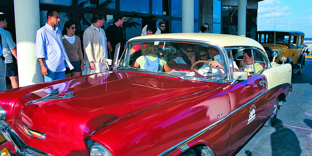 Private tour 8 hours of Havana on a 1950's car